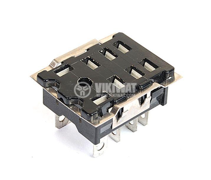 Цокъл за реле HL2-SS, 300 VAC, 10 А, 8 pin - 1