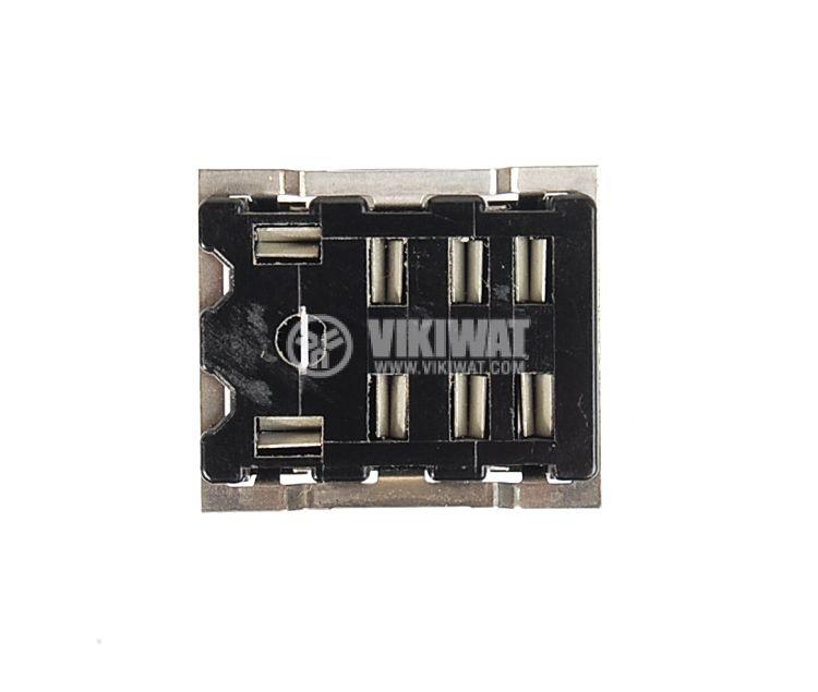 Цокъл за реле HL2-SS, 300 VAC, 10 А, 8 pin - 3