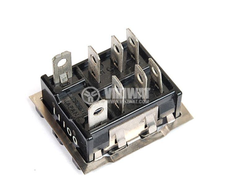 Цокъл за реле HL2-SS, 300 VAC, 10 А, 8 pin - 4