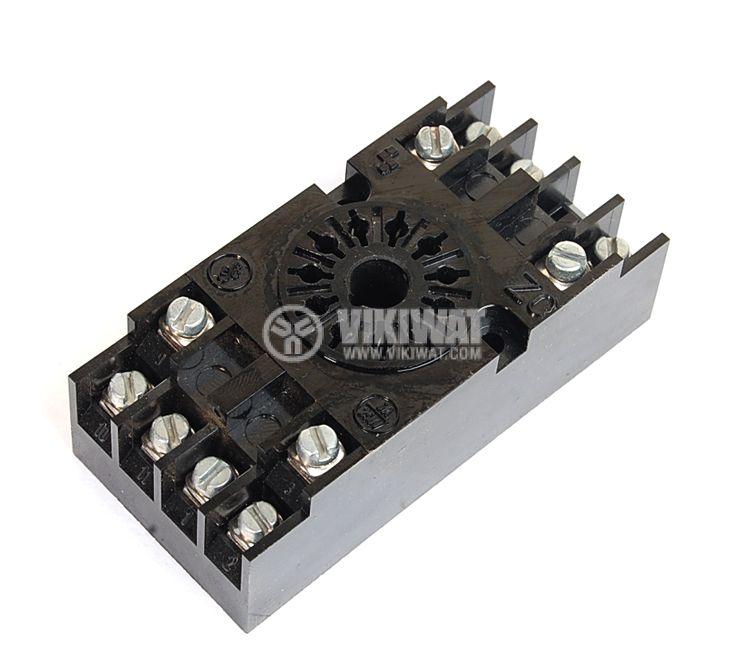 Цокъл за реле ZC-11, 300 VAC, 10 A, 11pin - 1