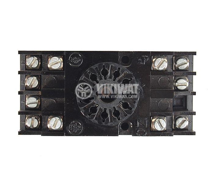 Relay Socket ZC-11, 300 VAC, 10 A, 11pin - 2