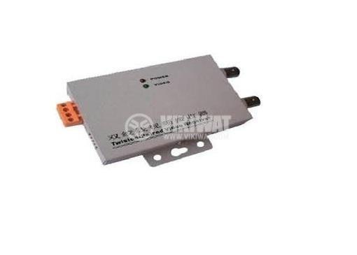 Предавател / приемник AD5201R-03, 1 UTP към 2BNC
