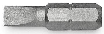 Bits for slotted screw 6.5 x 25