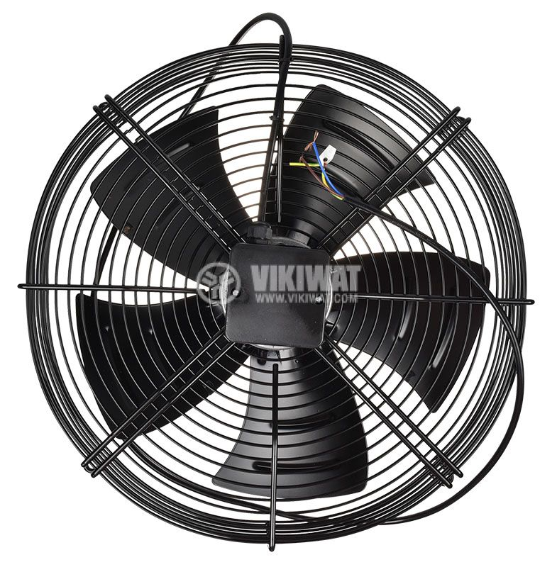 Fan, industrial, axial, ф630mm, 15000m3 / h, 800W, FDA-4D-630S, 380VAC - 3