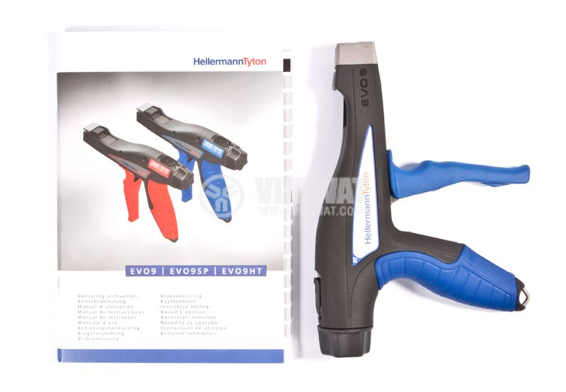 Tension gun EVO7 for tightening cable ties - 5