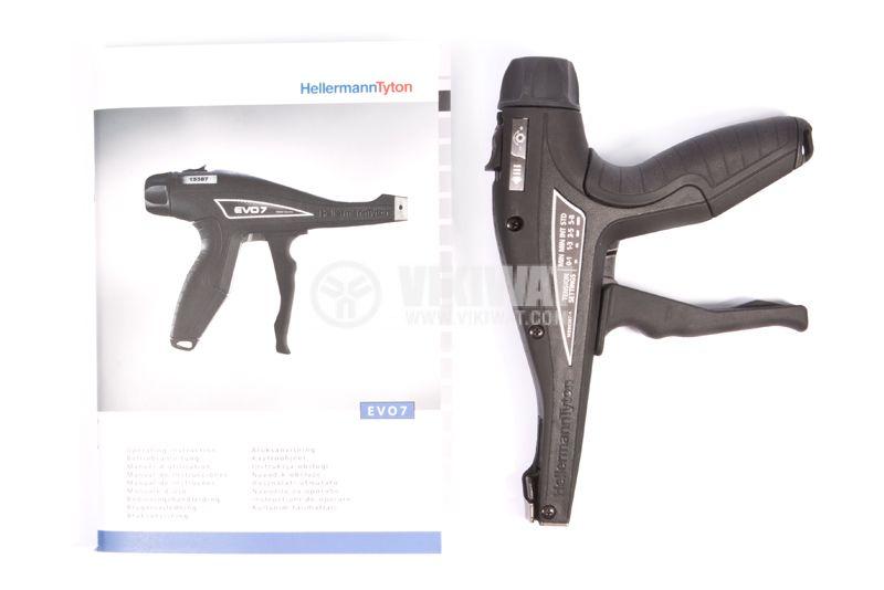 Ръчен пистолет за стягане на кабелни превръзки EVO7 - 5