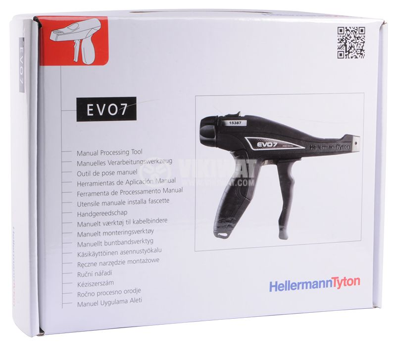 Tension gun EVO7 for tightening cable ties - 8