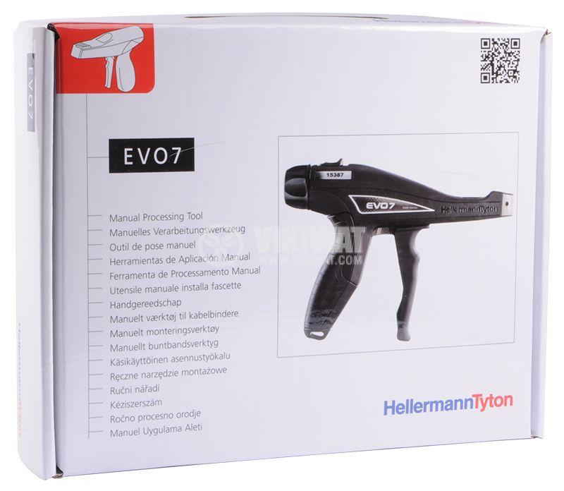 Ръчен пистолет за стягане на кабелни превръзки EVO7 - 8