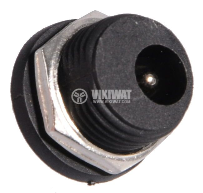 Power supply connector B113D, M, 5.5x2.1mm - 2