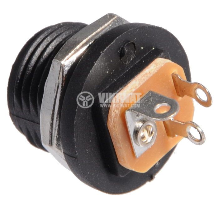 Power supply connector B113D, M, 5.5x2.1mm - 3