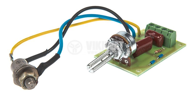 Phase power regulator TC 122-25-8 to 2000W, 220VAC - 2