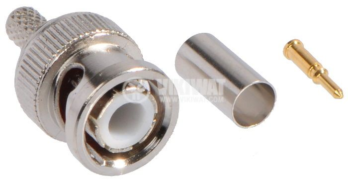 Connector BNC  Male, 50 Ohm  - 1