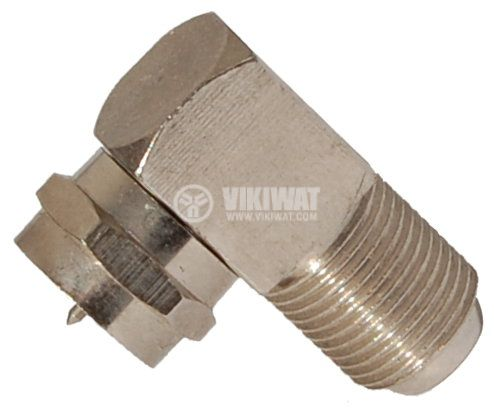 Connector, F Connector, M-F, 90 ° - 1