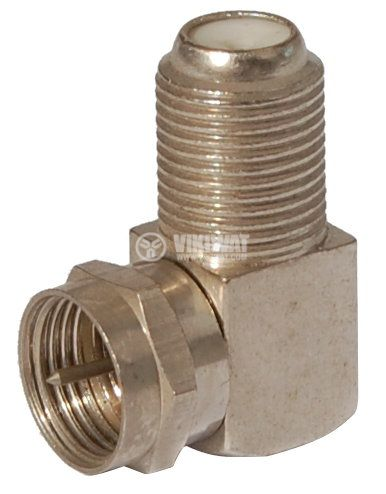 Connector, F Connector, M-F, 90 ° - 2