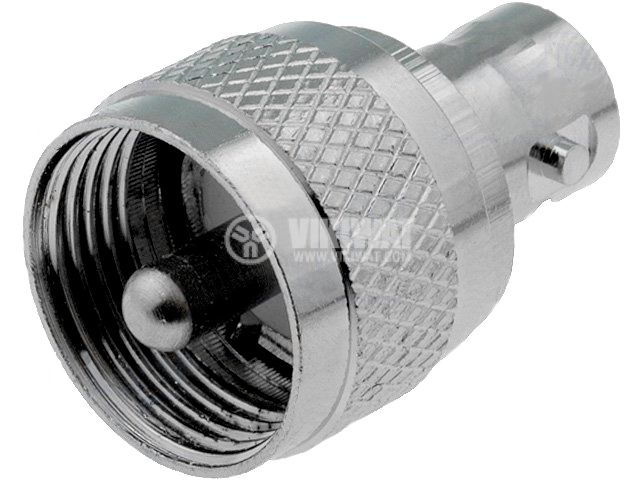 Connector adapter BNC/f-UHF/m, UHF-303