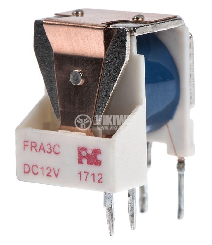 Реле електромагнитно, FRA3C-DC12, 12VDC, 15A, SPDT, NO-NC - 1
