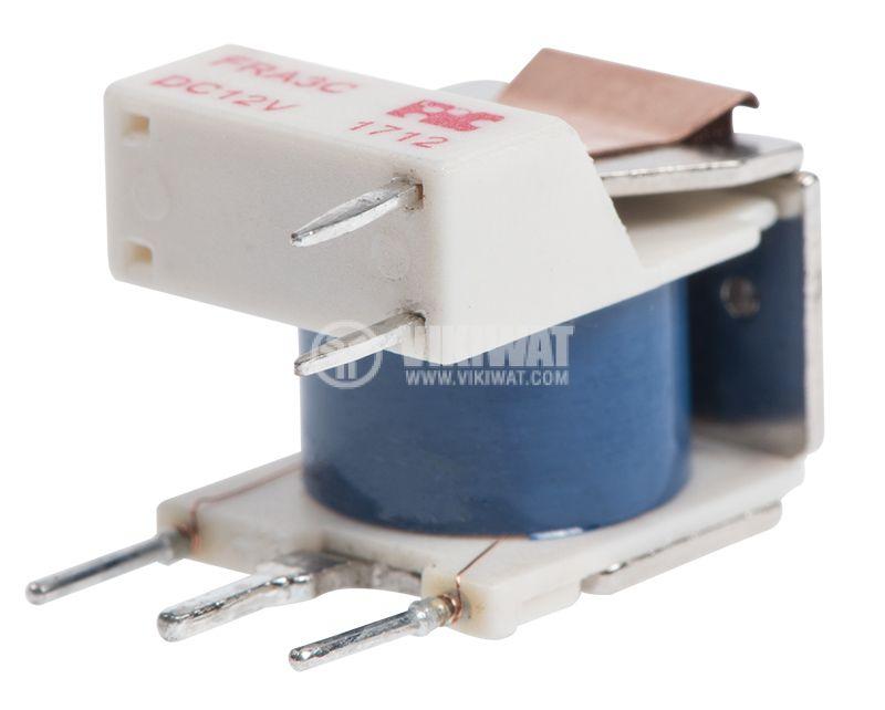 Реле електромагнитно, FRA3C-DC12, 12VDC, 15A, SPDT, NO-NC - 3