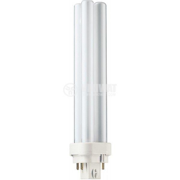 Луминесцентна лампа PL-C, 26W, 220VAC