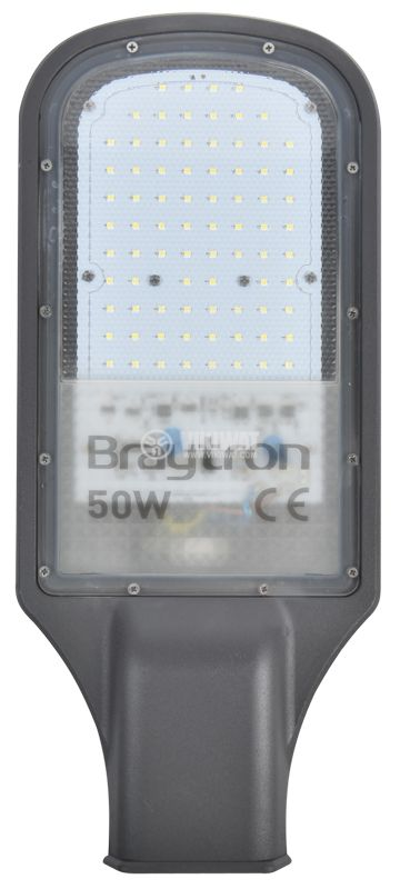 LED street lighting lamp STL1, 50W, 220VAC, 4500lm, 6000K, IP65, BT42-05032 - 1