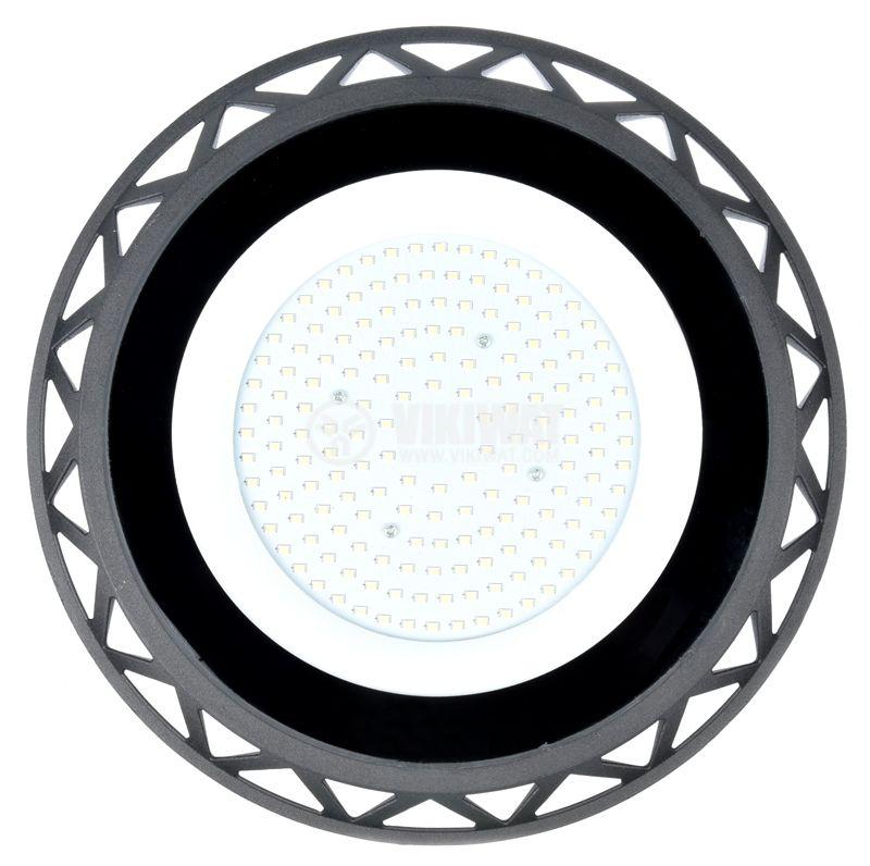Промишлено LED тяло UFOHIBAY, 100W, 220VAC, 10000lm, 6000K, IP65 - 4