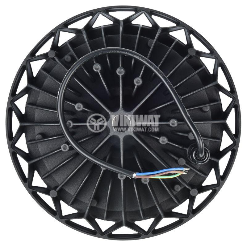 Промишлено LED тяло UFOHIBAY, 100W, 220VAC, 10000lm, 6000K, IP65 - 8