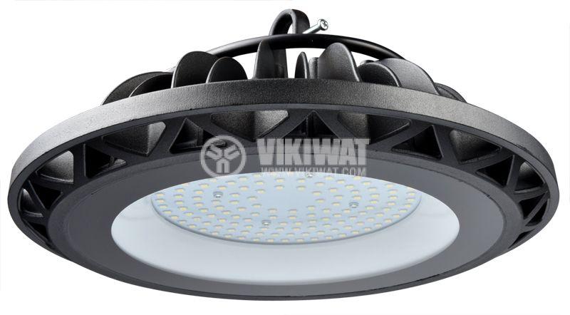 Промишлено LED тяло UFO HIBAY, 100W, 220VAC, 10000lm, 6000K, IP65, BT45-09132 - 5