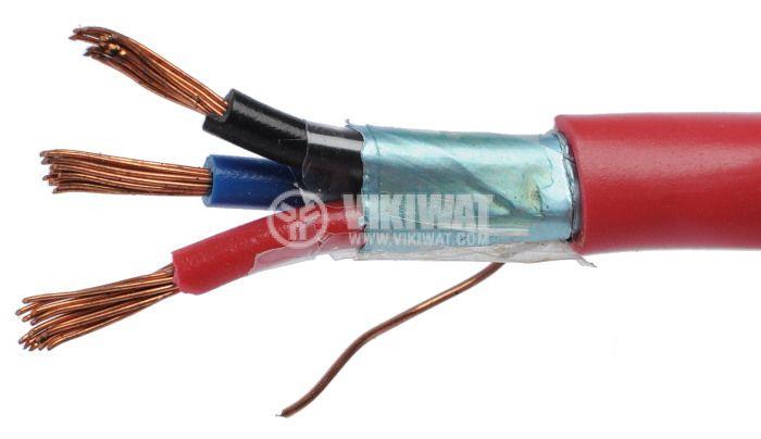J-Y(L)Y екраниран пожарен кабел 3x0.75