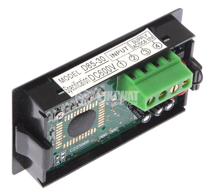 Digital voltmeter, 0-600V DC, SFD-85 - 2