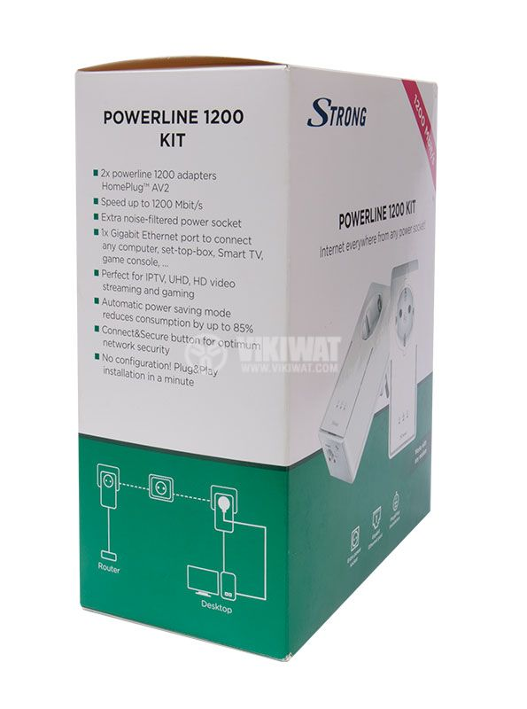 Powerline adapter 1200Mbit/s - 7