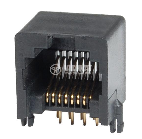Конектор, RJ45 F, PCB - 1