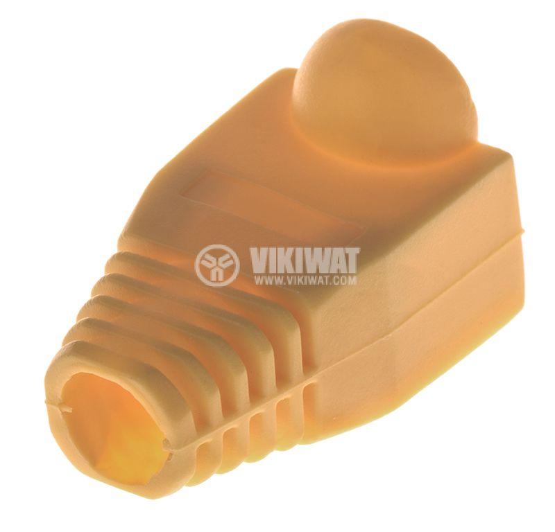 Boots Cap Plug for RJ45 flexible, yellow - 2