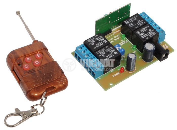 4 Channel Module with Remote Control and 4 working modes - 1