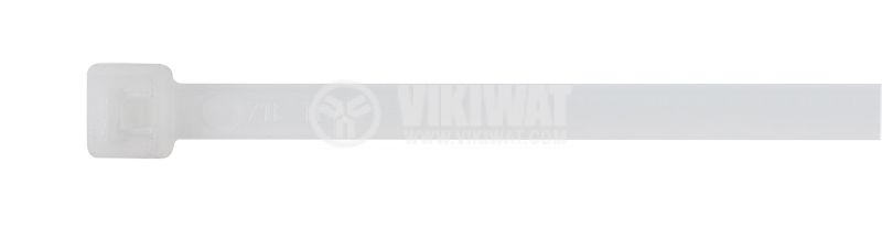 CABLE TIE T50I-PA66-NA, 300MM, WHITE - 2