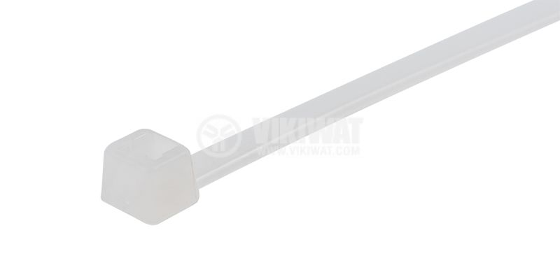 CABLE TIE T50I-PA66-NA, 300MM, WHITE - 3