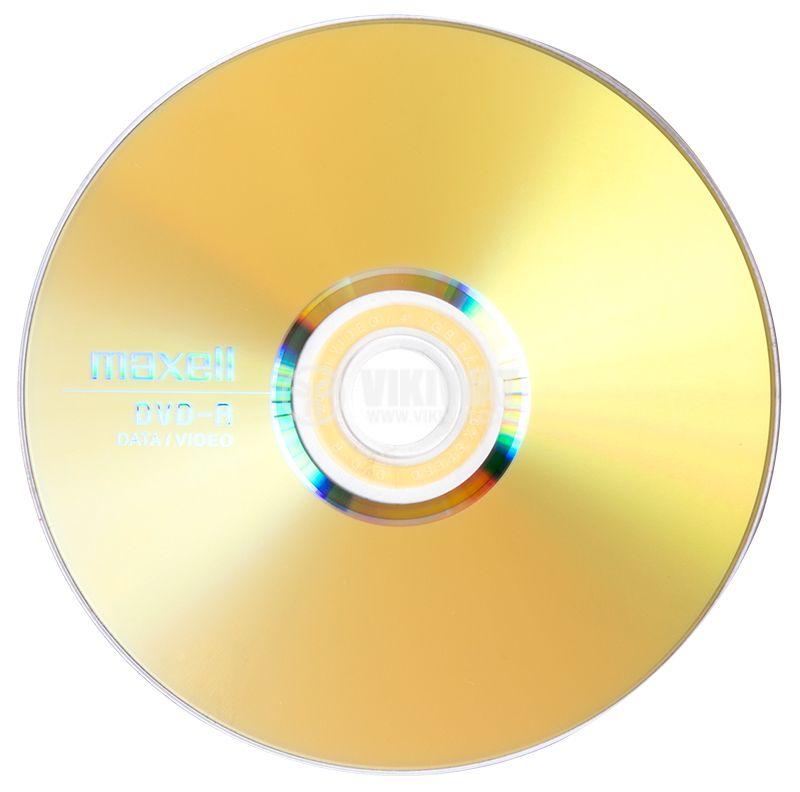 DVD-R  MAXELL, 4.7GB, 120 min, data/video