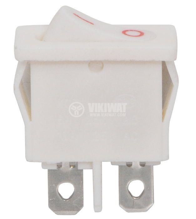 Клавишен превключвател, KCD1, 6A/250VAC, SPST