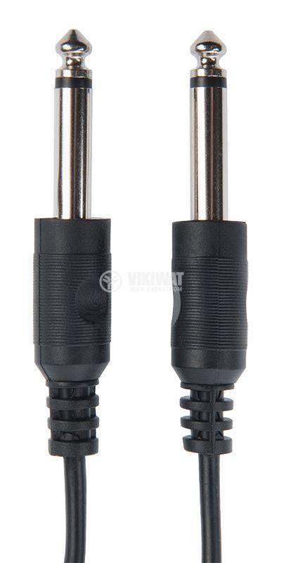 Cable mono PLUG 6.3 / m-mono PLUG 6.3 / m, 1m - 1