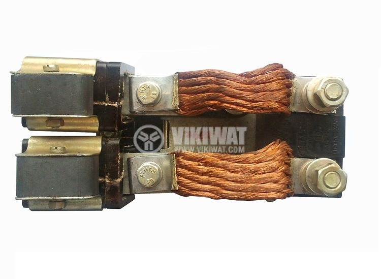 Contactor, single-phase, coil 40VDC, 2PST - 2NO, 100A, КВПД-100Б, NO+NC - 3