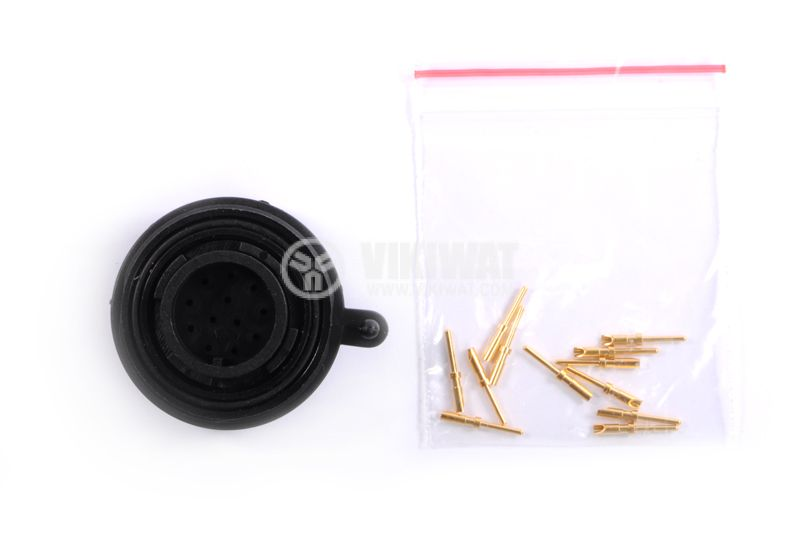12-piece coupling kit for male and female mounting, IP68 - 7