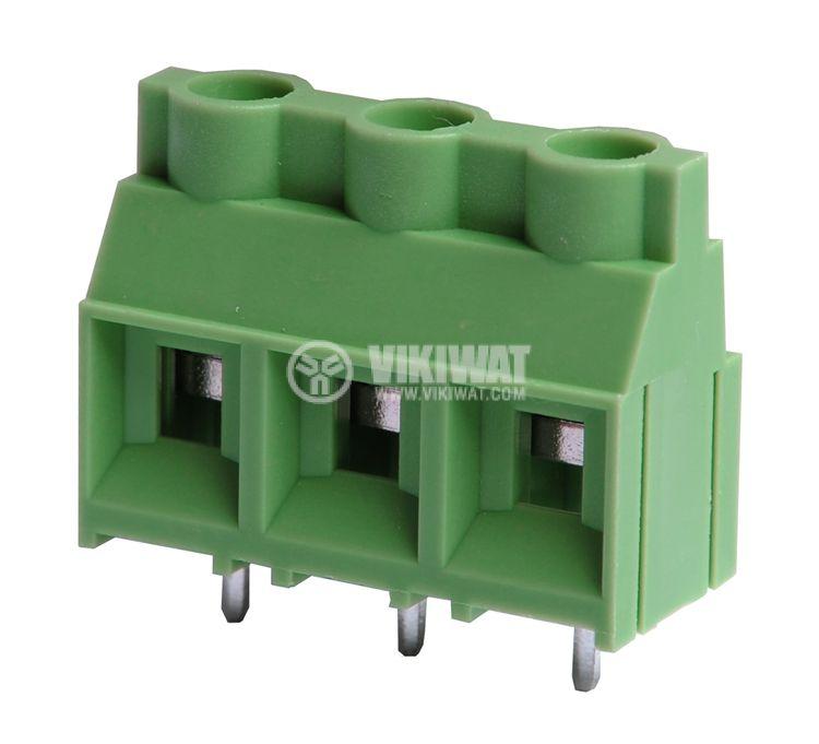 Клеморед за печатна платка 5 mm, VF950 - 9.5, 3 pin, 30A - 1