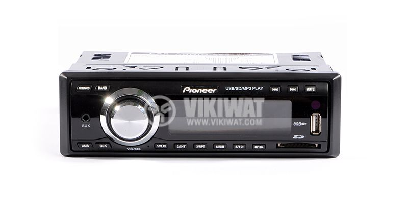 Radio CTC-3000U Pioneer, mp3, USB slot, MMC and SD slot, AUX-in - 1