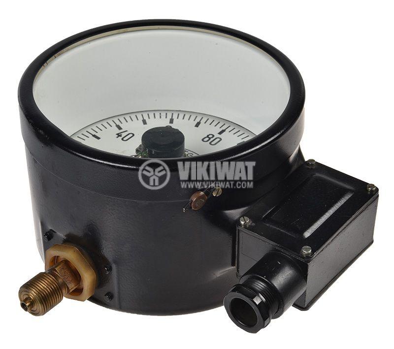 Gauge, analogue Ф160 x 110mm, 0-160kgf/cm2  - 4