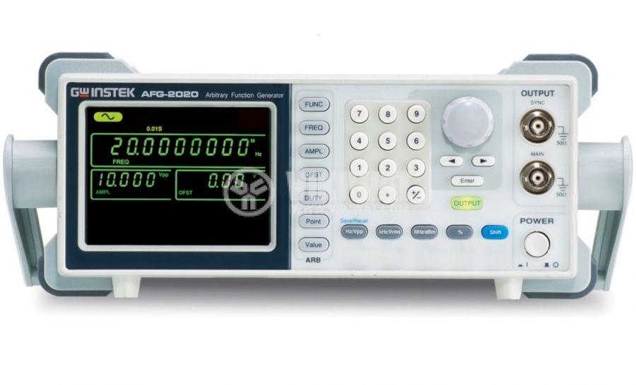 Функционален генератор AFG-2005, цифров (DDS), от 0.1 Hz до 5 MHz - 1