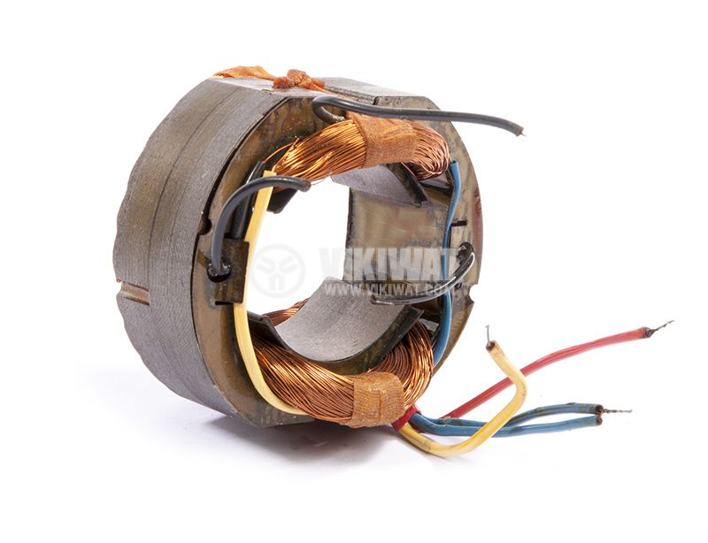 Stator for electric motor, 220VAC, 87/47mm - 3