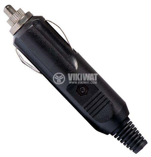 Щепсел за запалка на кола, 12VDC - 1