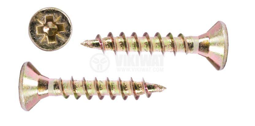 Self-tapping screw, wood, 3x35mm
