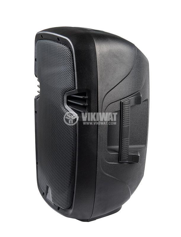 Speaker box, PVC, 10'', black - 2