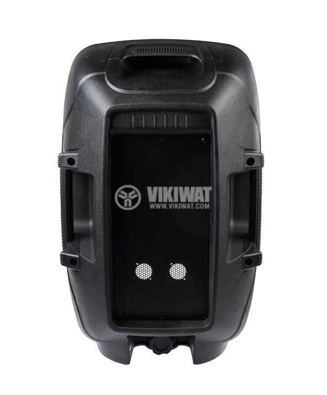 Speaker box, PVC, 10'', black - 3