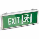 Emergency LED fixture EXIT, 3W, 220VAC, BC14-00553, green body with white letters