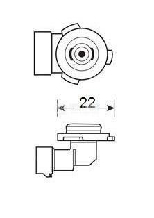 Автомобилна халогенна лампа 51W - 3